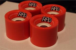 New RAD Advantage Longboard Wheels