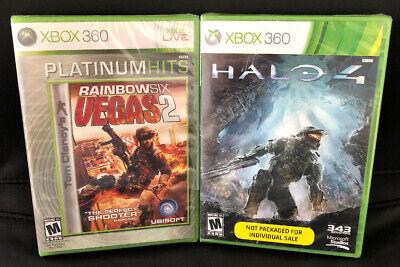 Usado, XBOX 360 ONE ✔ BRAND NEW SEALED ✔ RAINBOW SIX 6 VEGAS 2 & HALO 4 ✔ SHIPS FAST! ✔ comprar usado  Enviando para Brazil