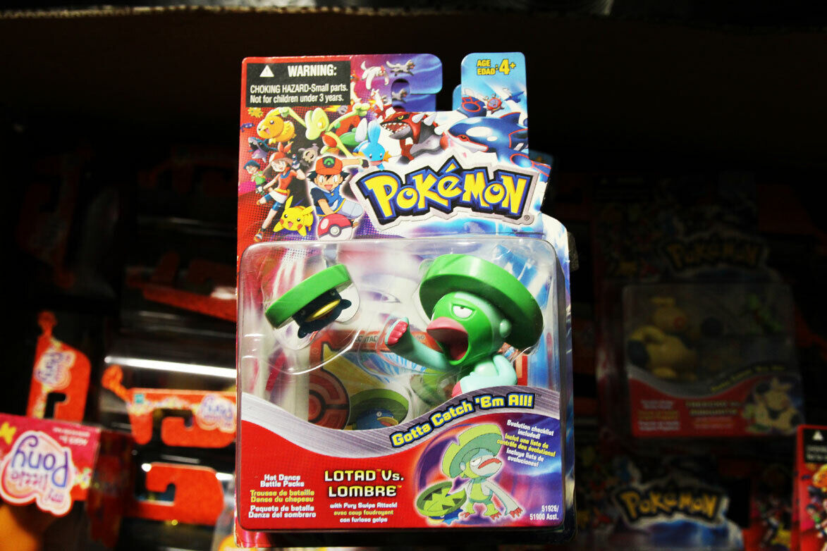 NEW! Pokemon Lotad vs Lombre Very Rare 2005 Free shipping Includes cards