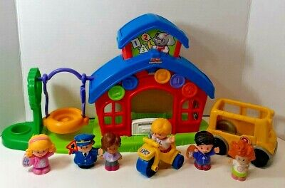 Fisher-Price LITTLE PEOPLE School House Miss L. Afina's Set Target Exclusive