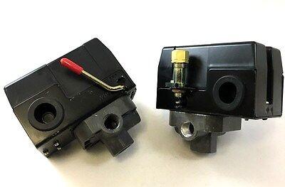Universal 4 Port Air Compressor Pressure Switch For Single Stage Compressors