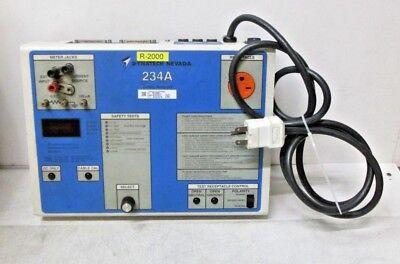 Dynatech Nevada 234a Safety Analyzer Used Free Shipping