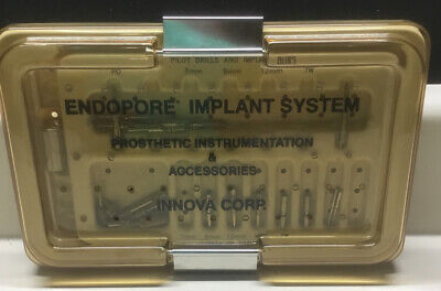 Innova Endopore Implant Dental System Surgical Instrumentation Implant Kit