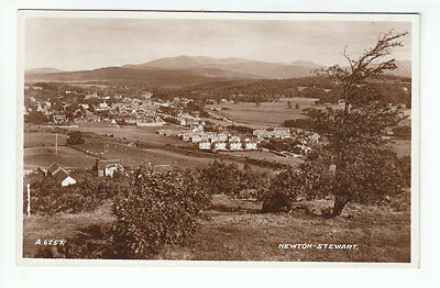 Newton Stewart Wigtown General View 1937 Real Photograph William Jolly C Hunter