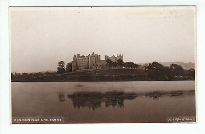 Linlithgow Palace And Peel West Lothian HM Office Of Works Old Postcard Unposted