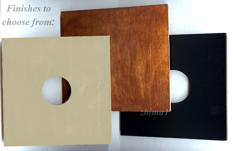 """1 LENS BOARD 5.2x 5.2"""" for ANSCO 4x5 or 5x7"""" Camera- Plywood/undrilled/free hole"""