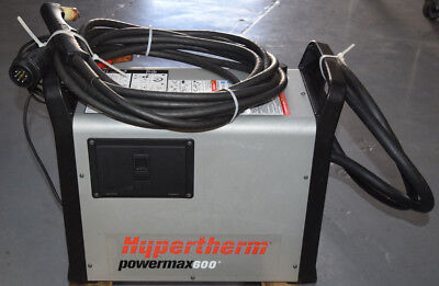 Hypertherm Powermax600 Plasma Cutter 200-240vac 1ph Power Input