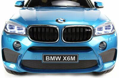 Elektro-lift (Bmw X6 Lift Eva Räder Kinderauto Kinderfahrzeug Kinder Elektroauto Blau)
