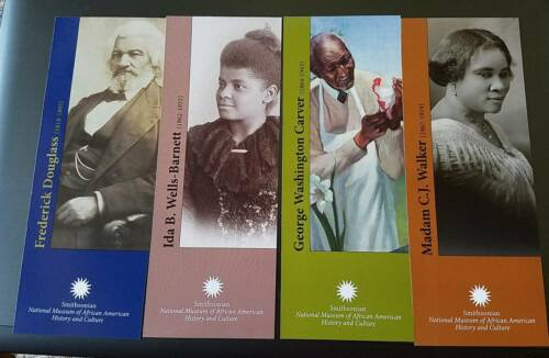 4 Smithsonian National Museum African American history cards