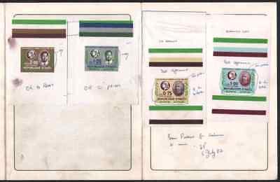 Haiti 1984 Stamp Centenary Air MASTER PROOFS in FOLDER