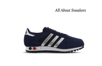 "Adidas LA Trainer II ""Navy-Silver-White"" Men's Trainers All Sizes Limited Stock"
