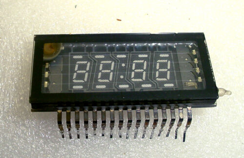 Futaba Blue Fluorescent Display Clock Timer 4 Digit 7 Segment 5-MT-937