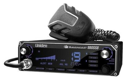 Uniden BC-980 AM/SSB Bearcat CB Radio 7 Color 980SSB PRO TUNED AND ALIGNED