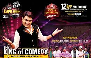 **Comedy Night with Kapil Sharma, front row and second row seats Melbourne CBD Melbourne City Preview