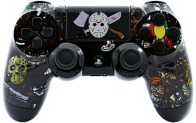 Scary Party  Ps4 Custom Un Modded Controller Exclusive Unique Design