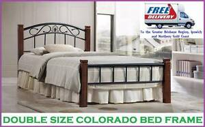 DOUBLE Size Bed Frame Brand NEW and with FREE DELIVERY New Farm Brisbane North East Preview