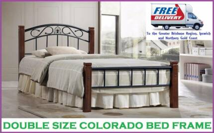 DOUBLE Size Bed Frame Brand NEW and with FREE DELIVERY
