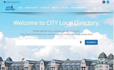 Local Business Directory Profitable Website - Hosting Included