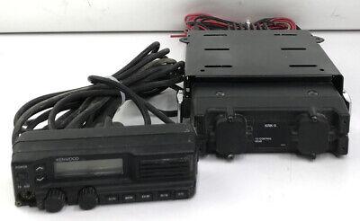 Kenwood Tk-790h Vhf Mobile W Kch-10 Front Panel Ham Radio Cable
