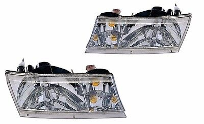NEWMAR MOUNTAIN AIRE 2003 PAIR HEADLIGHTS HEAD LIGHTS LAMPS RV - 4PCS SET