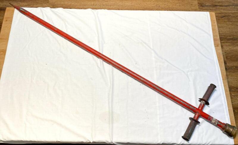 "Fire Fighting Pierce Piercing Nozzle 67"" Long Vintage 1-1/2 NH"