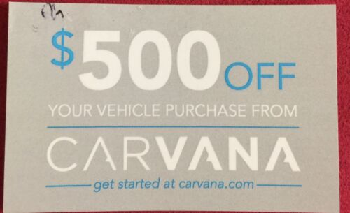 Carvana $500 off code