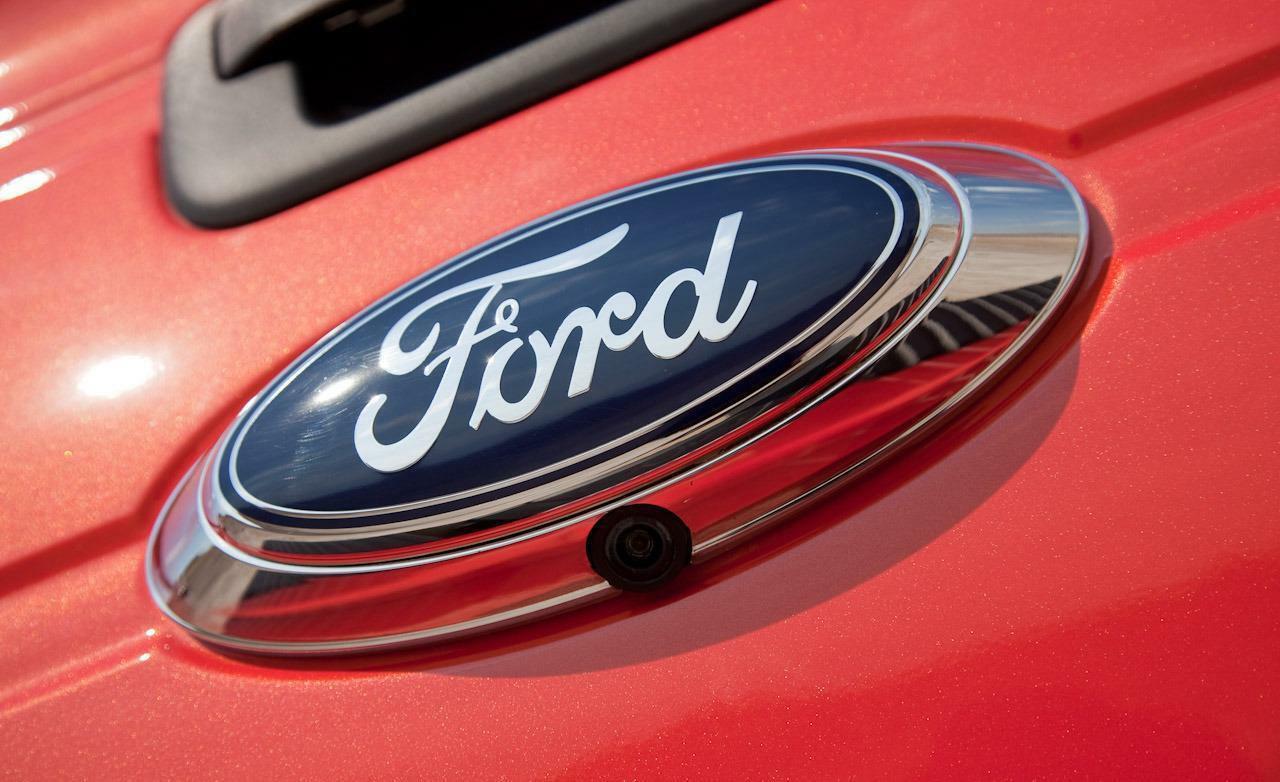 Ford Replacement Emblem Camera Replaces Broken Factory Camera