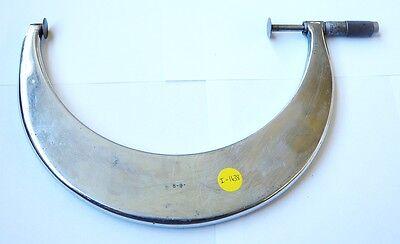 St James Usa 8 9 Tubular Disc Micrometer Type .001 Graduations