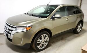 2013 Ford Edge Limited AWD|Warranty|Fully Loaded Htd Leather|Pan