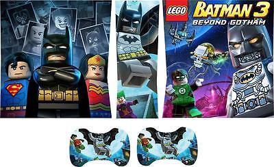 Xbox 360 Delgado Skins Batman Vinilo Pegatinas Consola Almohadillas Mandos