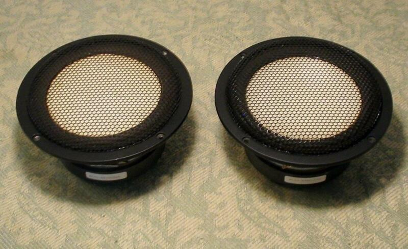 "2 ACCUTON C92 MID BASS WOOFERS 7"" CERAMIC DRIVER XCLNT THIEL AUDIOPHILE SPEAKERS"