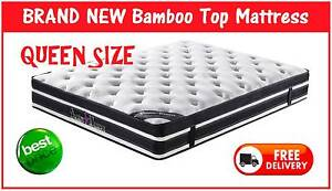 BRAND NEW Queen size Mattress - BAMBOO FABRIC - FREE DELIVERY New Farm Brisbane North East Preview