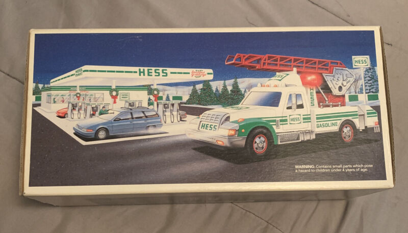 1994 Hess Toy Rescue Truck - New In Box