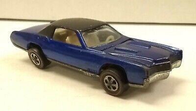 Hot Wheels Redline Blue Custom Eldorado 1968