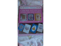 Helen Philipps Cross Stitch Samplers and Cards book.