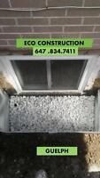 CONVERT SMALL WINDOW TO EGRESS FIRE ESCAPE -CUT & INSTALLATIONS