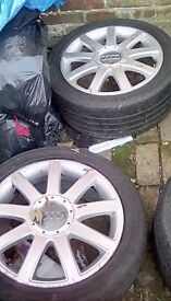 """Audi alloy wheels 17"""""""
