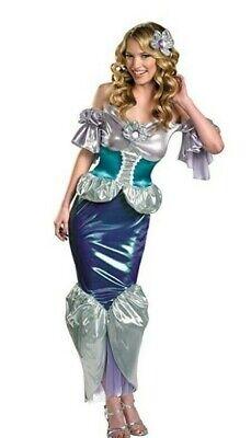 Ariel Womens Large 12-14 Costume The Little Mermaid Disney Adult Sexy Princess