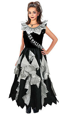 Girls Gothic Prom Queen Tattered Zombie Halloween Party - Gothic Prom Queen Halloween Kostüm