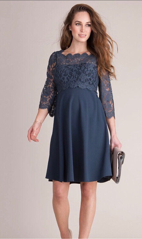 1edff5e51ee Seraphine Luxe Maternity and Nursing Lace Dress
