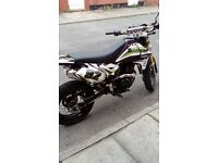 Adrenaline 125cc 2014 brand new gopro decals runs perfect great bike needs nothing doing to it thank