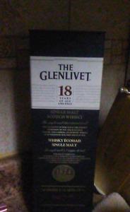Glenlivet 18 years Single Malt Scotch Whiskey