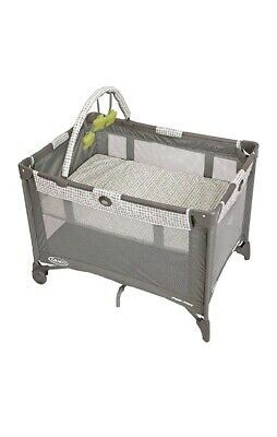 Graco Pack 'n Play On the Go Playard | Includes Full-Size Infant Bassinet,