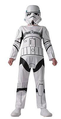 Star Wars Stormtrooper Kinderkostüm NEU - Jungen Karneval Fasching Verkleidung K ()