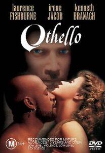 OTHELLO (1995 Laurence Fishburne) -  DVD - UK Compatible - New & sealed