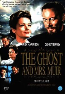The Ghost And Mrs. Muir (1947) New Sealed DVD / Joseph L. Mankiewicz