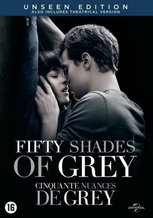 Film Fifty shades of grey op DVD
