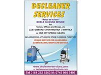 Decleaner Services - Professional Carpet Cleaners