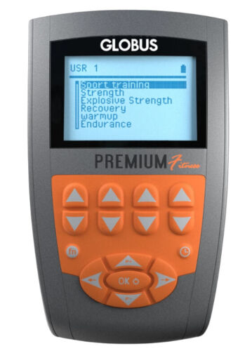 GLOBUS PREMIUM FITNESS EMS Muscle Stimulator 4 Channel FDA approved