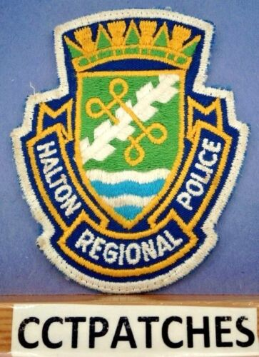 HALTON REGIONAL, CANADA POLICE DEPARTMENT SHOULDER PATCH 2